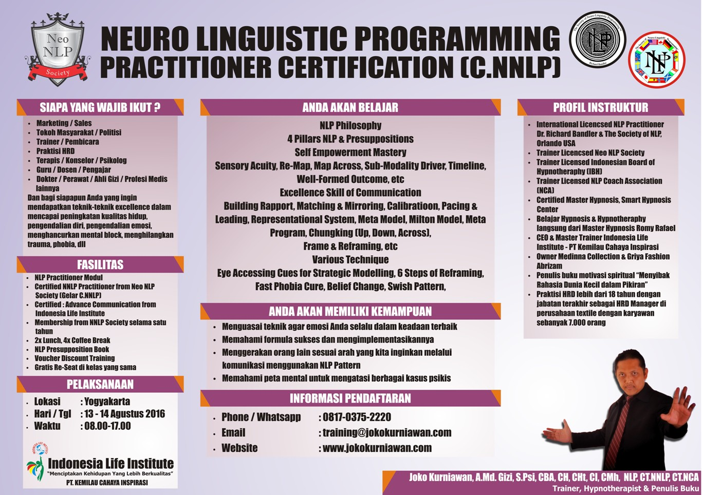 neo nlp  neuro linguistic programming  practitioner